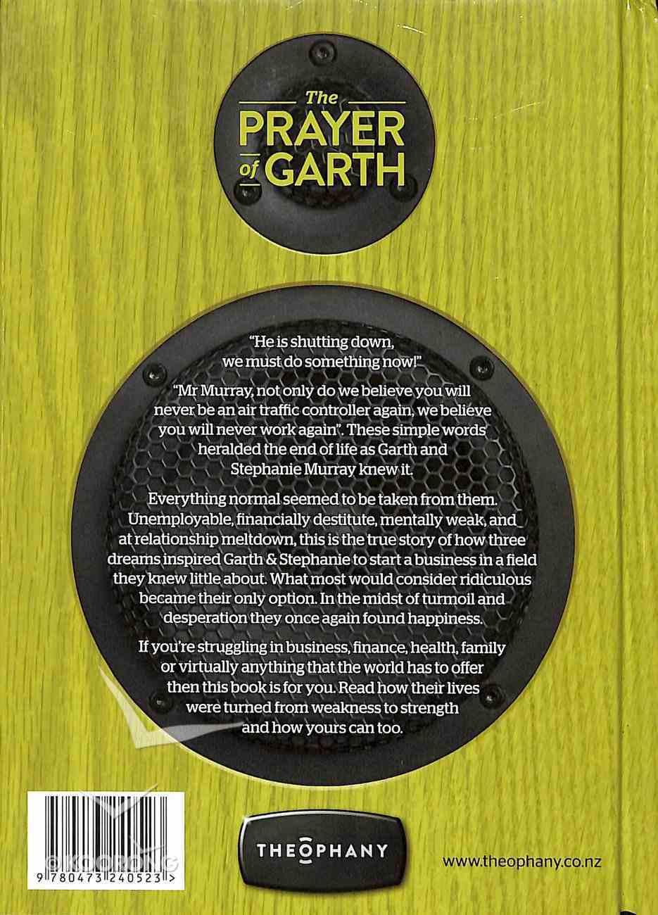 Theophany: The Prayer of Garth Hardback