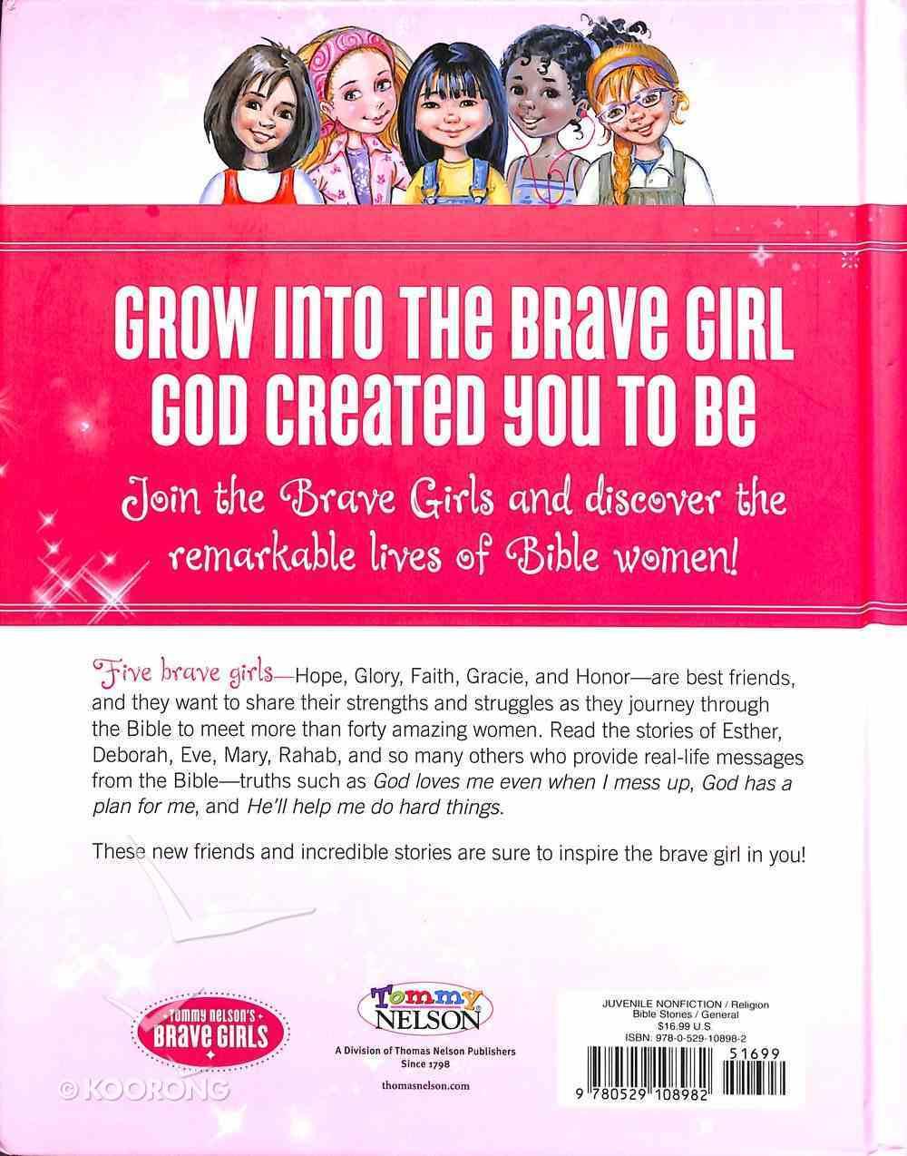 Brave Girls Bible Stories Hardback