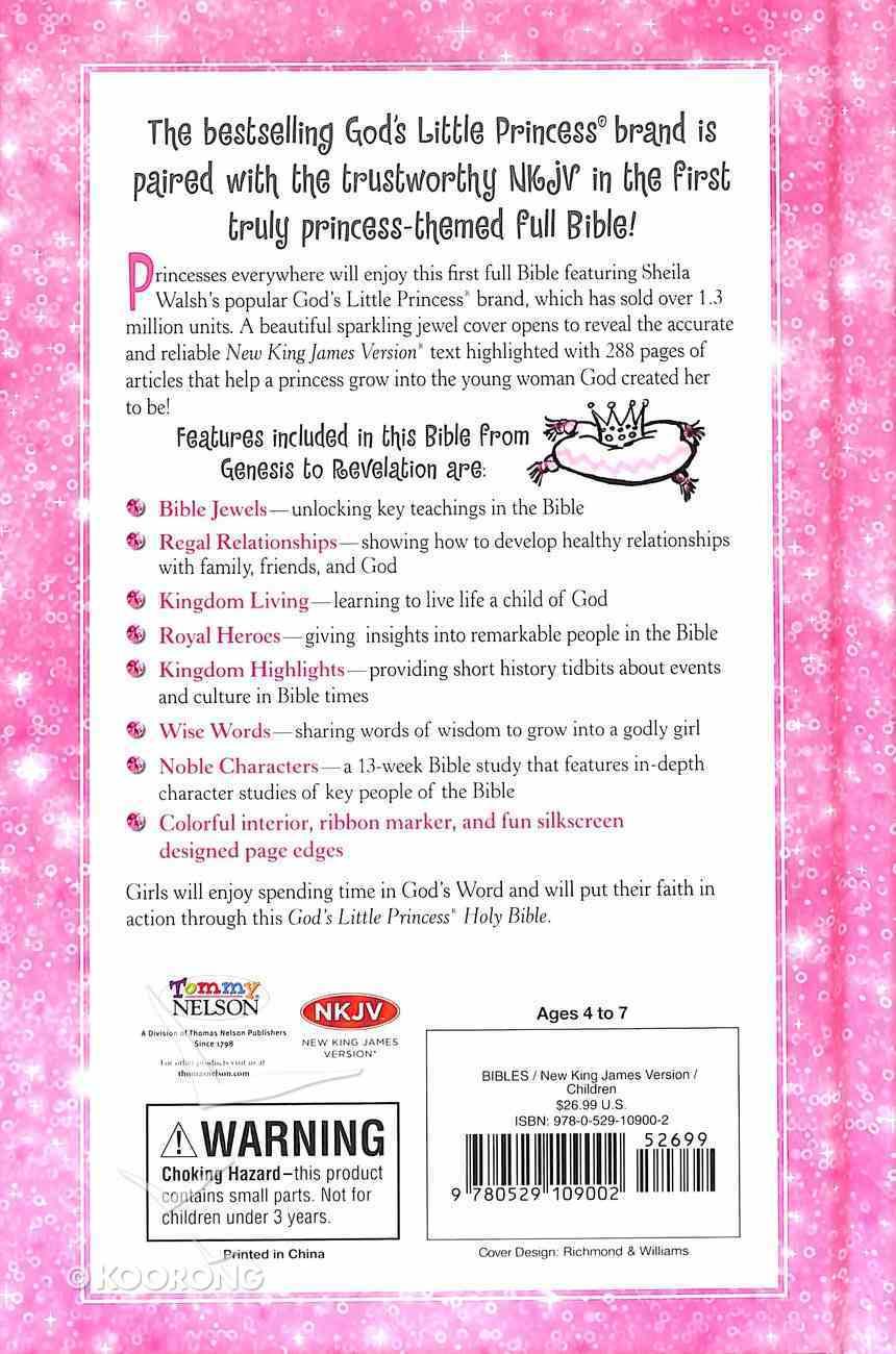 NKJV God's Little Princess Bible (Black Letter Edition) Hardback