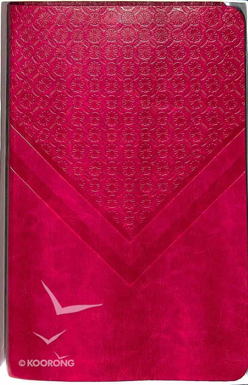 NIV Woman's Personal Study Bible Rich Rose Imitation Leather