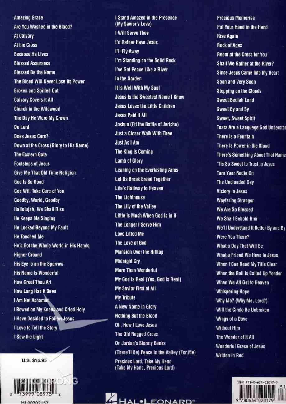 Gospel Songs - Easy Guitar Paperback