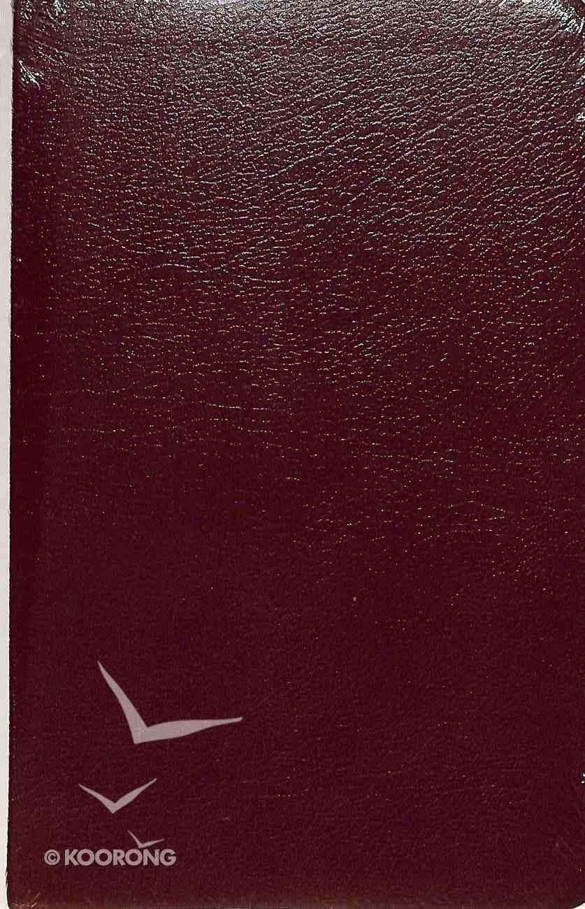 KJV Ultraslim Bible Burgundy Bonded Leather