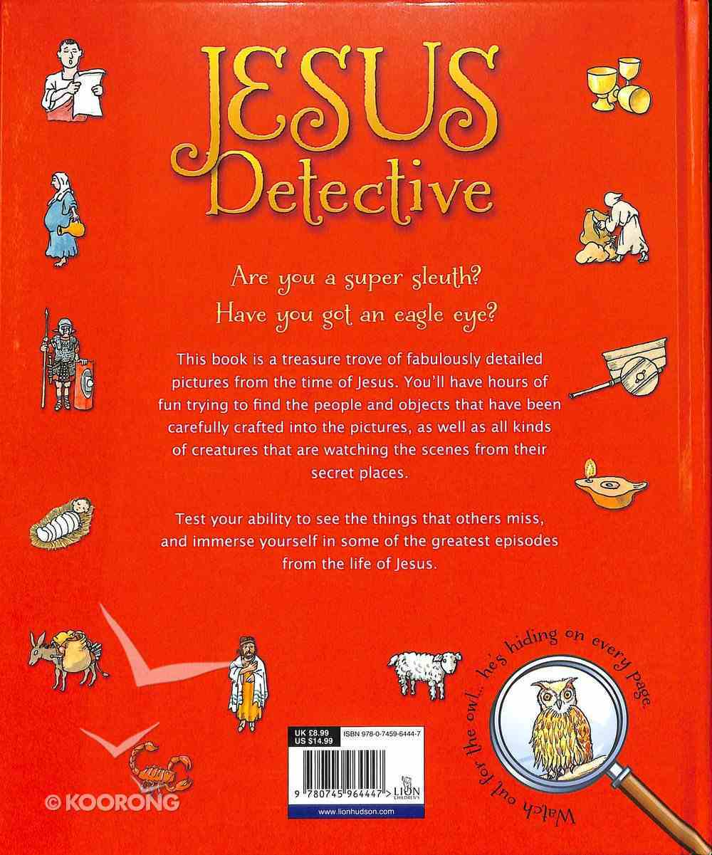 Jesus Detective; a Puzzle Search Book Hardback