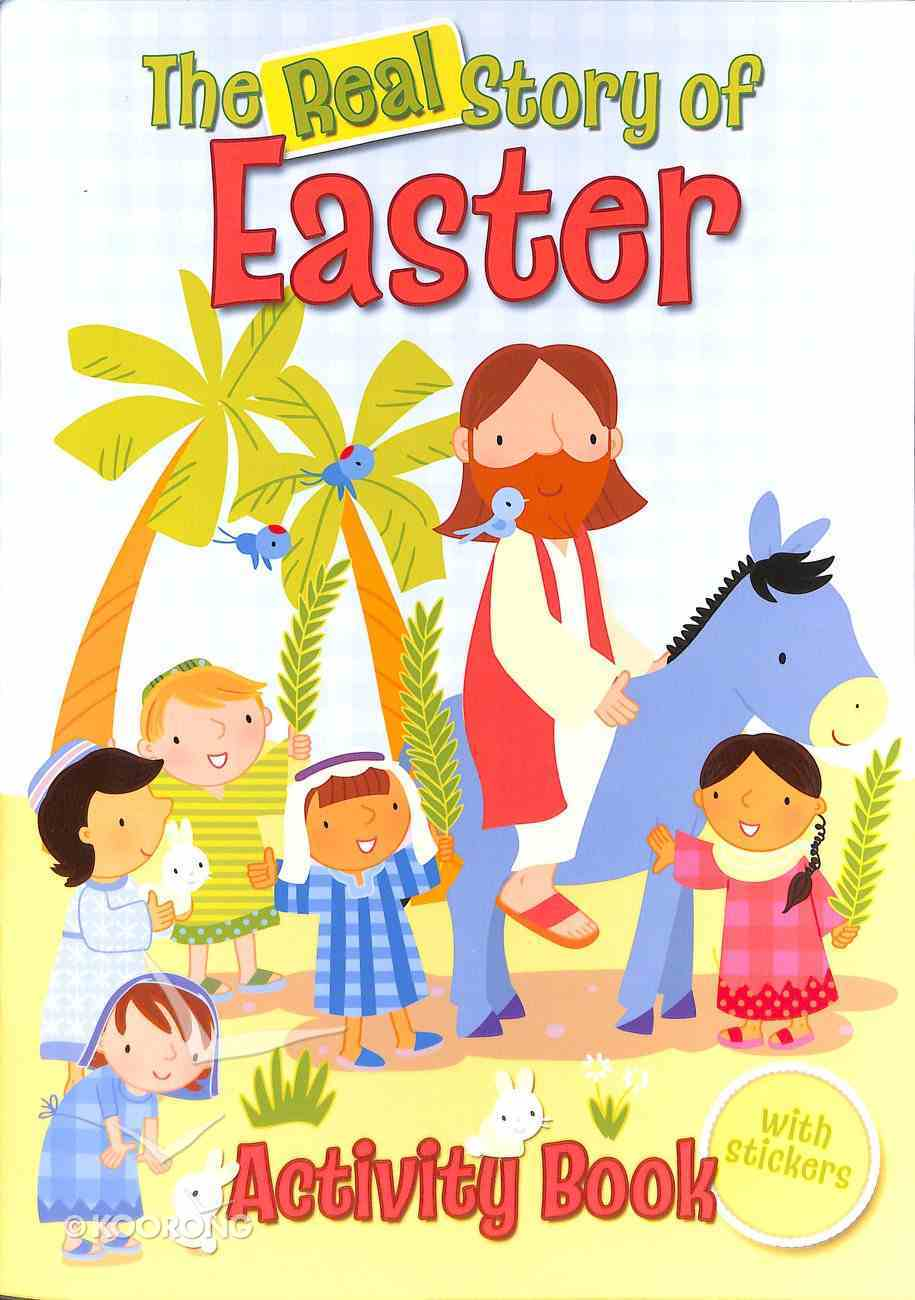 The Real Story of Easter Activity Book Paperback