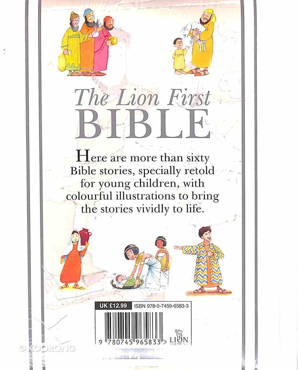 The Lion First Bible (White) Hardback