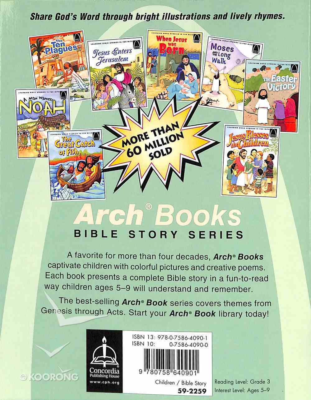 """Great Commission, The: Jesus Said, """"Go and Tell!"""" (Arch Books Series) Paperback"""