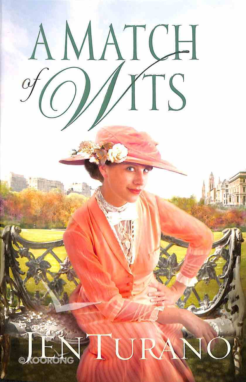 A Match of Wits (#04 in Ladies Of Distinction Series) Paperback