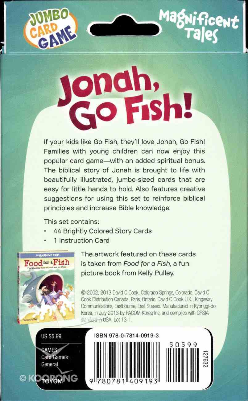 Jumbo Card Games: Jonah, Go Fish! Game