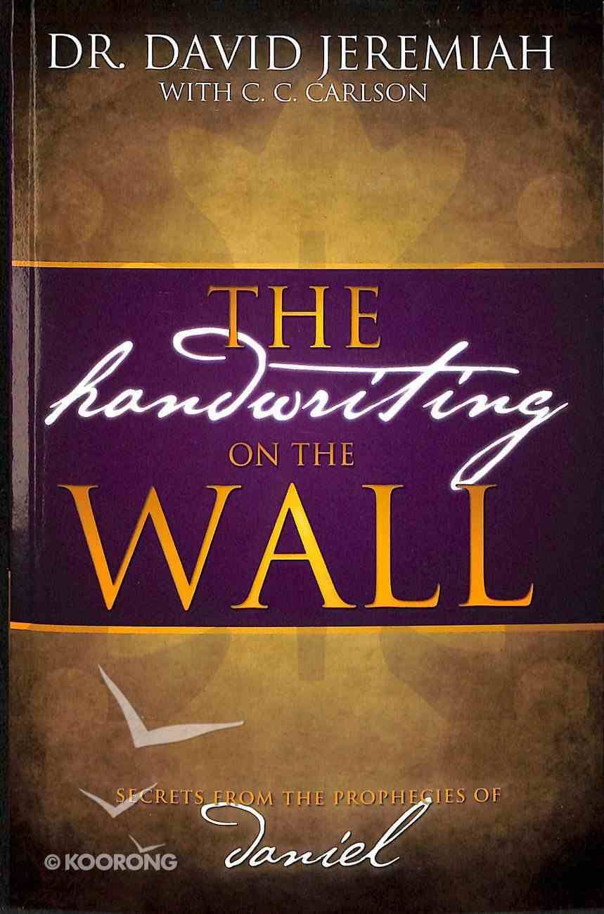 The Handwriting on the Wall Paperback