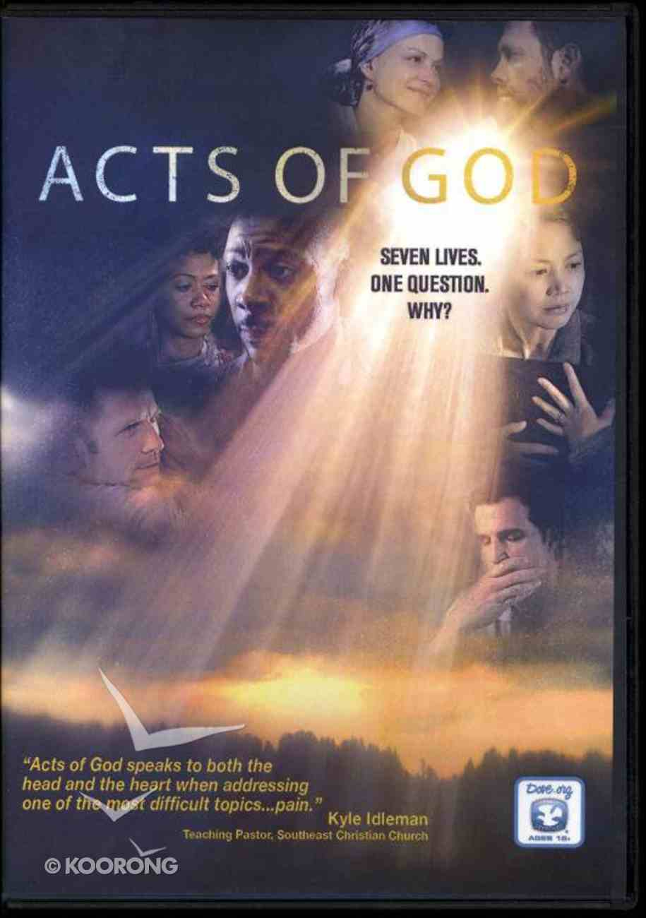 Acts of God (Book and Movie Combo) (Acts Of God Series) Pack