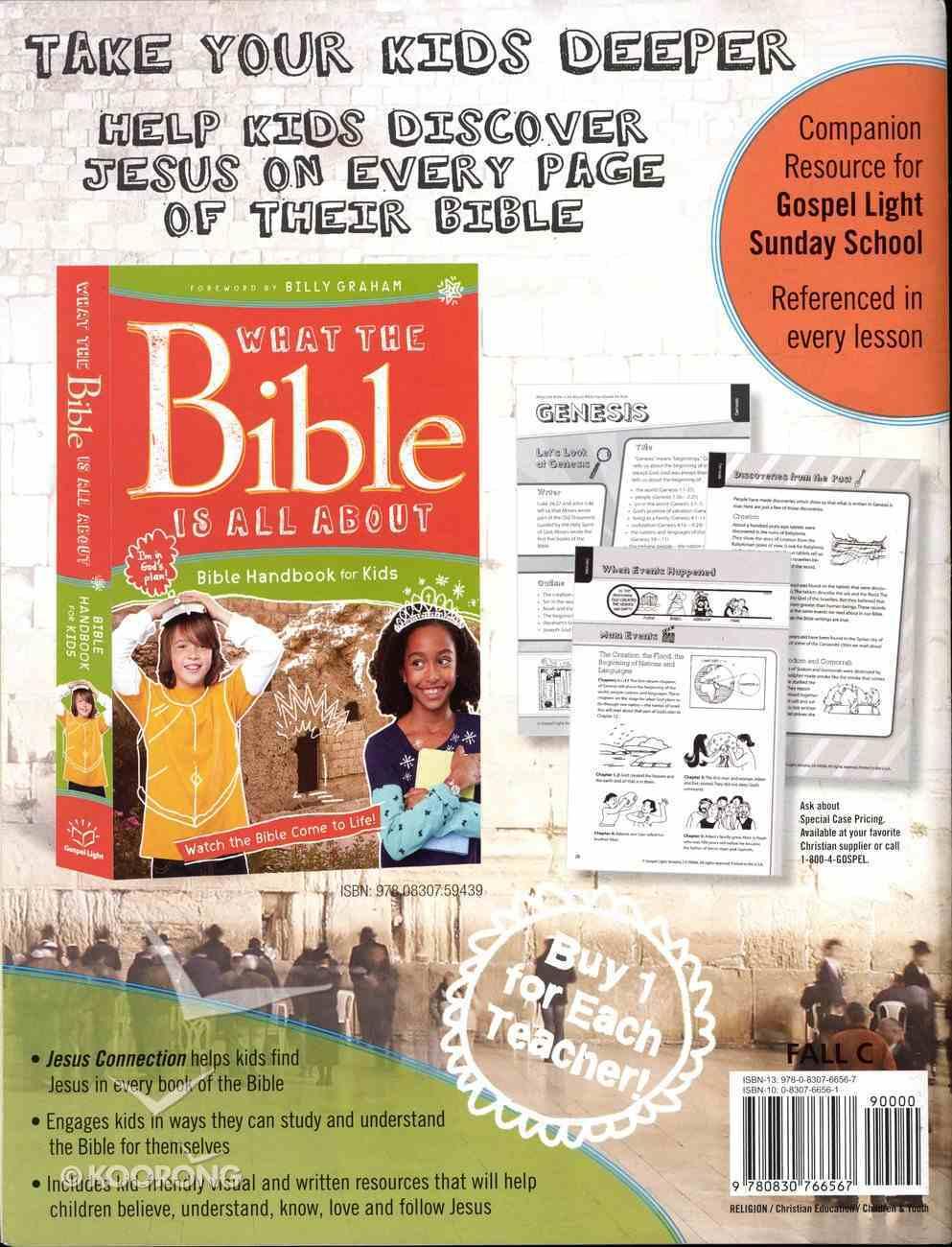 Gllw Fallc 2018 Grades 1-4 Bible Teaching Poster Pack (Gospel Light Living Word Series) Pack