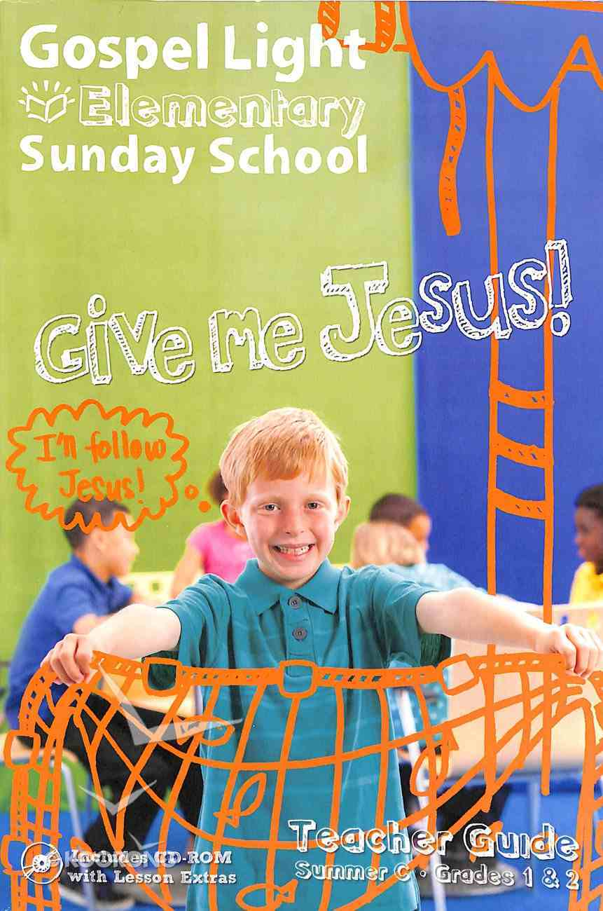 Gllw Summerc 2018/2019 Ages 6-8 Teacher Guide W/Cd Rom Grades 1&2 (Year C) (Gospel Light Living Word Series) Paperback