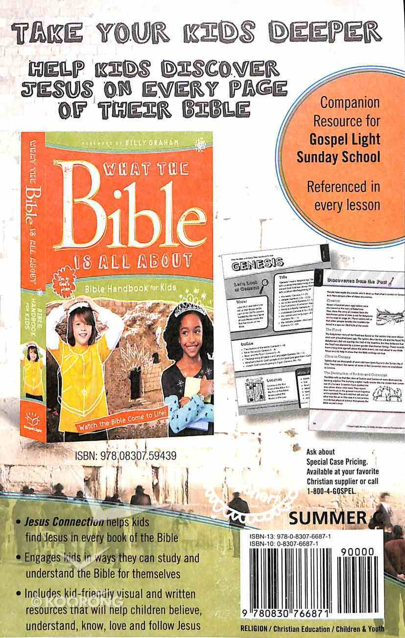 Gllw Summerc 2018/2019 Ages 6-8 Kid Talk Cards Grades 1&2 (5 Pk) (Gospel Light Living Word Series) Pack