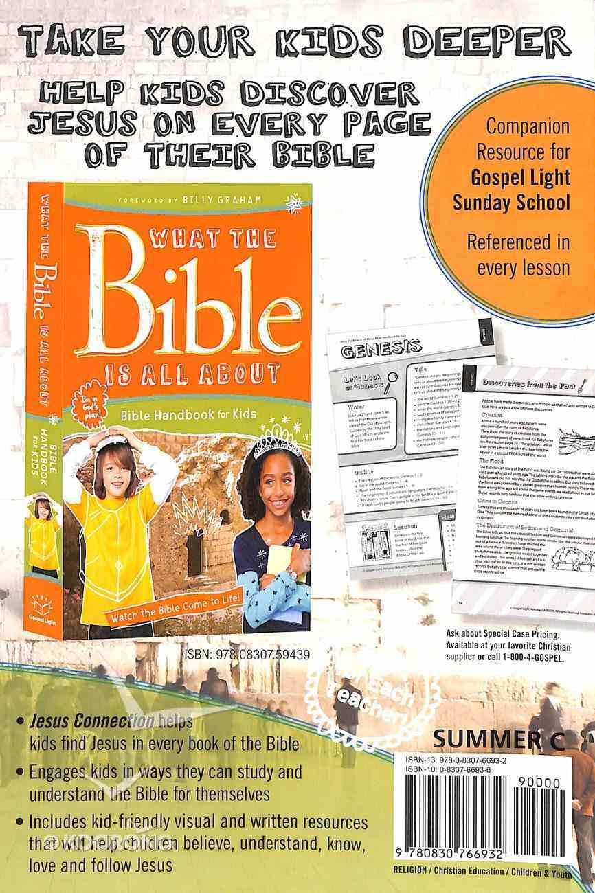 Gllw Summerc 2018/2019 Ages 8-10 Teacher Guide W/Cd Rom Grades 3&4 (Year C) (Gospel Light Living Word Series) Paperback