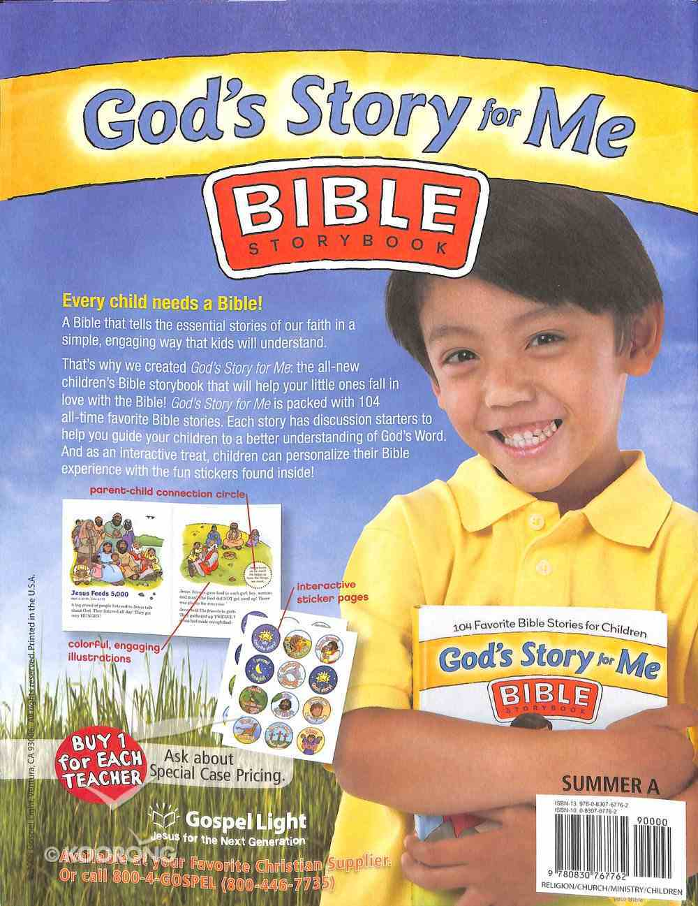Gllw Summera 2020/2021 Preschool Ages 2-3 (Talk Time Activity Pages) (Gospel Light Living Word Series) Paperback