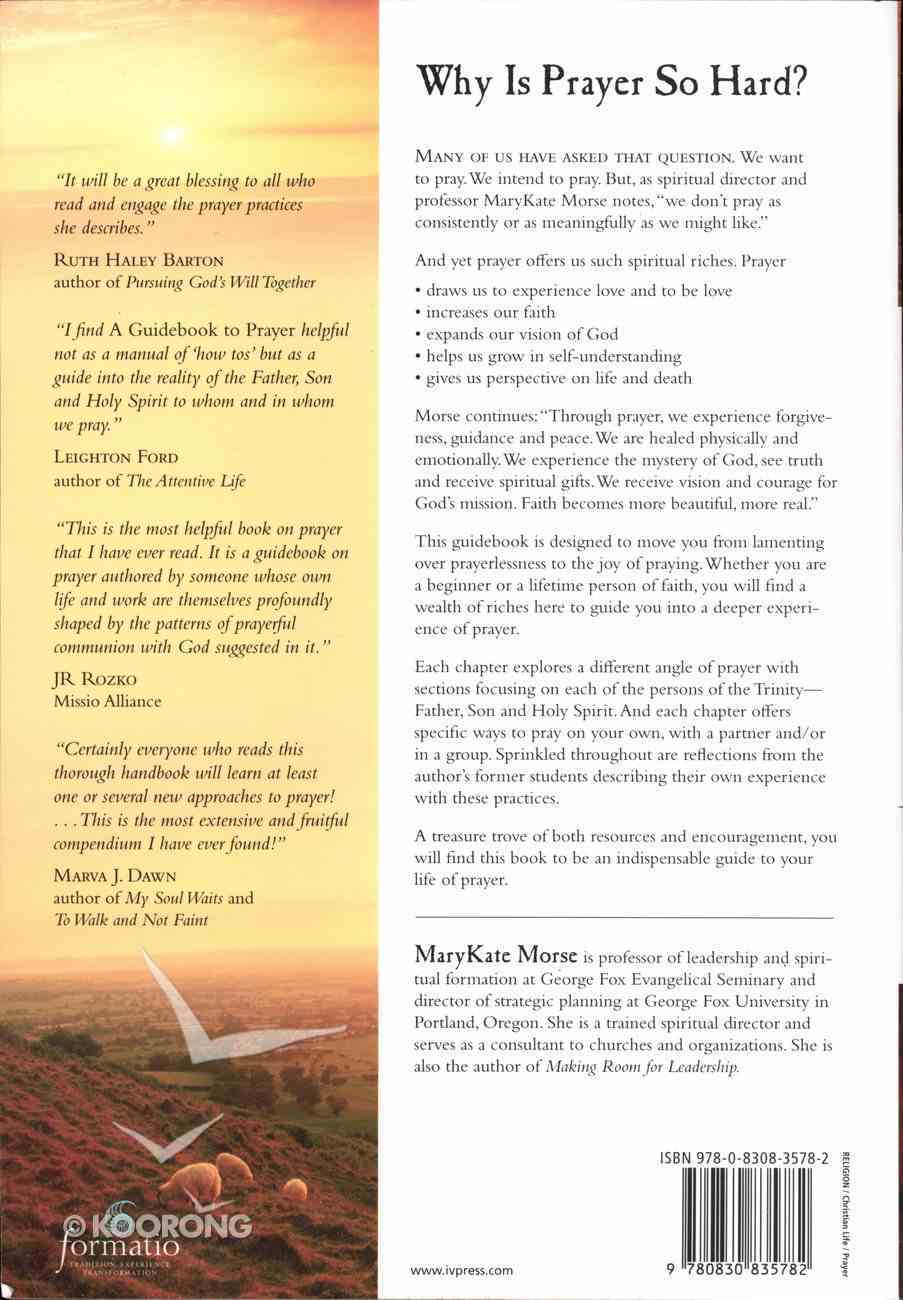 A Guidebook to Prayer Paperback
