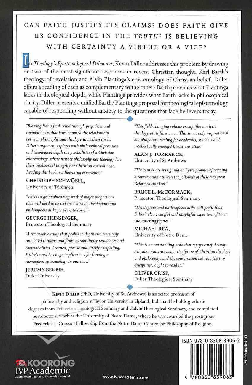 Theology's Epistemological Dilemma Paperback