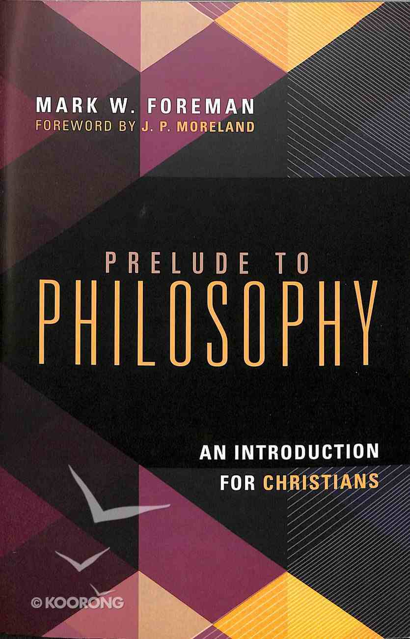 Prelude to Philosophy Paperback