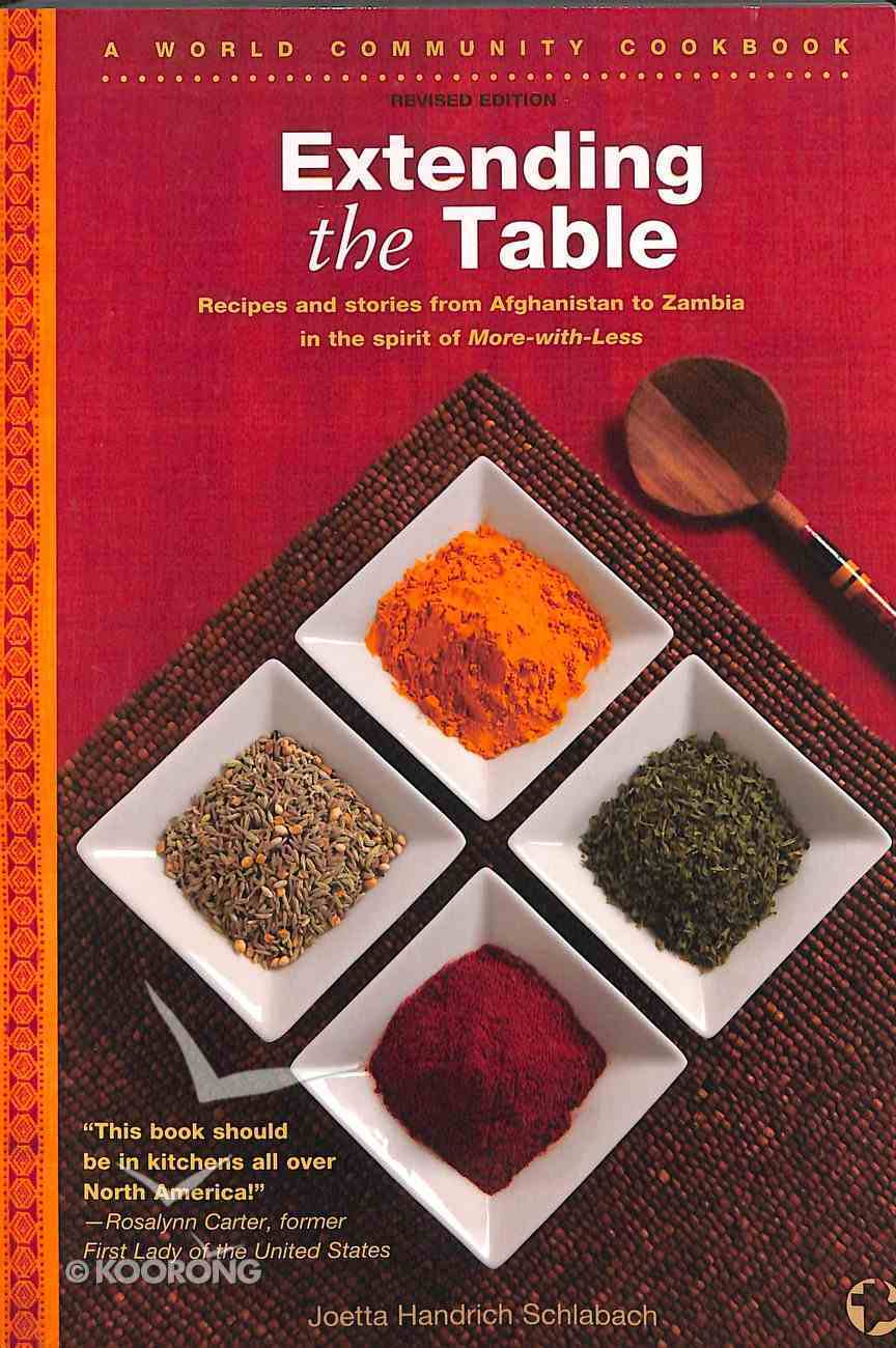 Extending the Table Paperback
