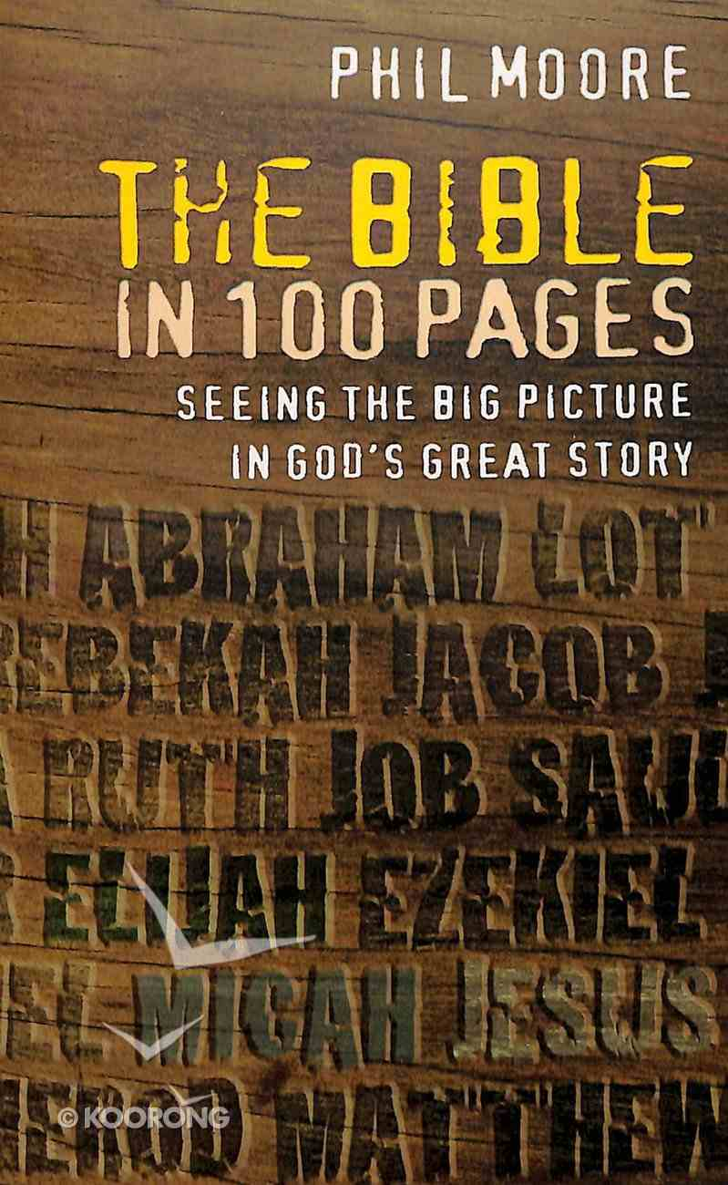 The Bible in 100 Pages Paperback