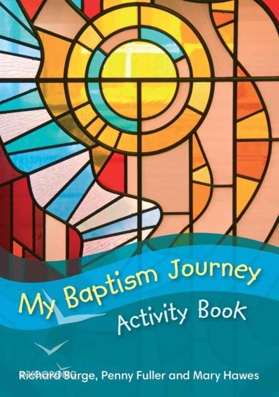 My Baptism Journey Activity Book Paperback