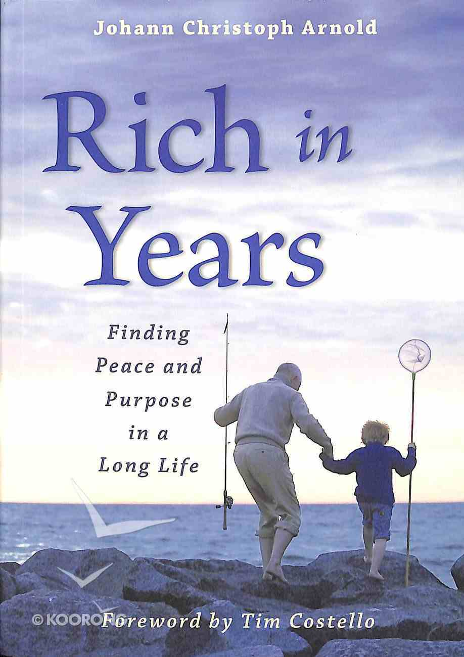 Rich in Years Paperback