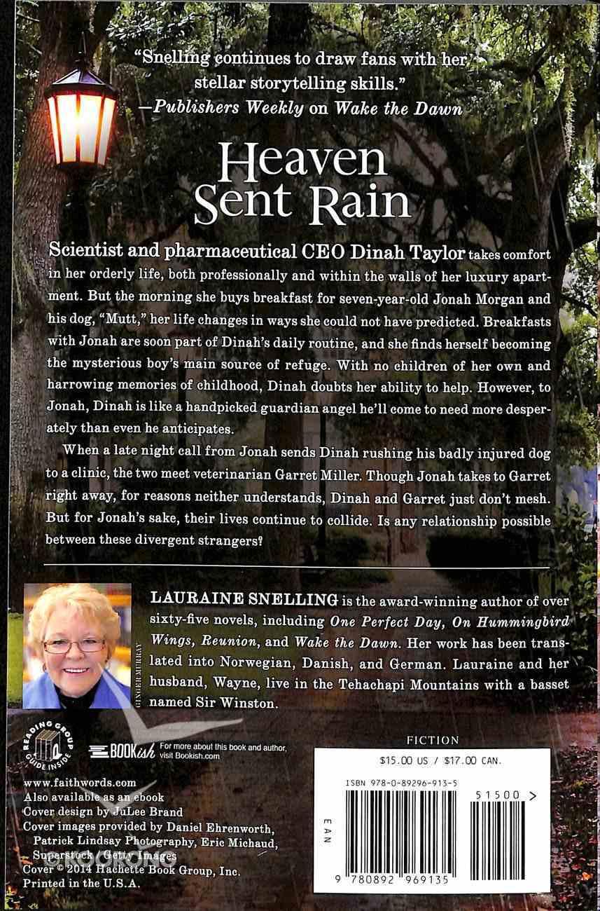 Heaven Sent Rain Paperback