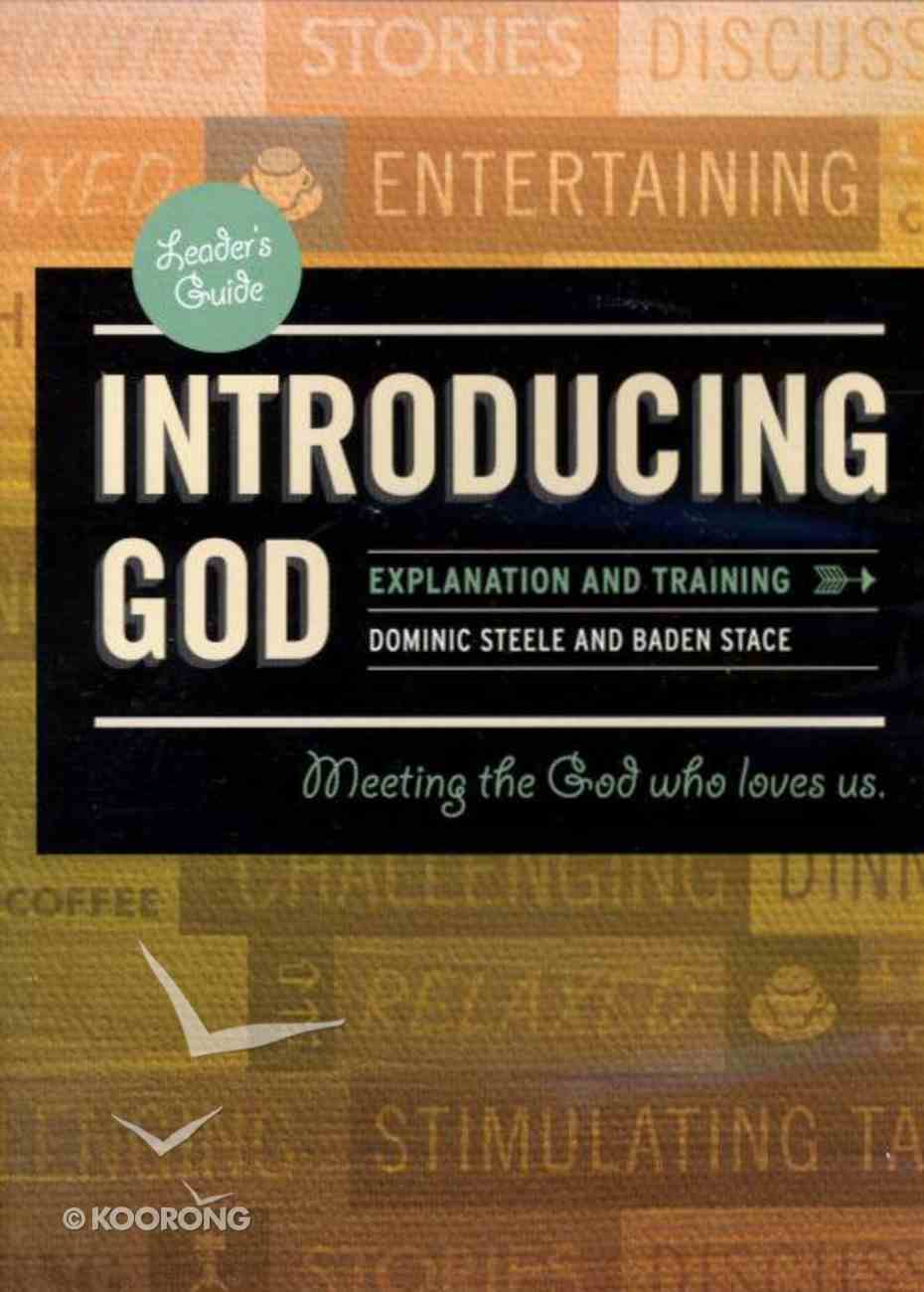 Introducing God Course (Training Dvd) DVD