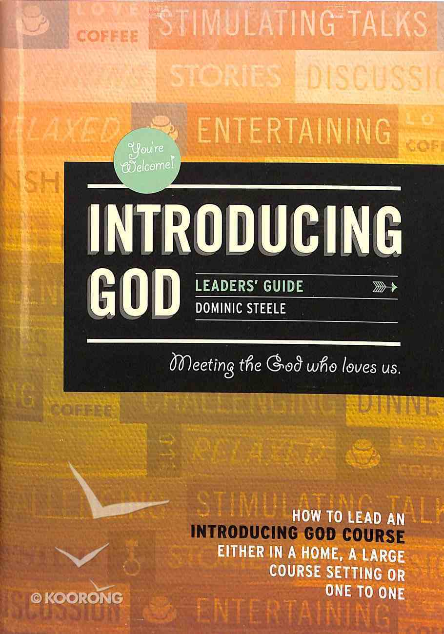 Introducing God (Leader's Guide) Paperback