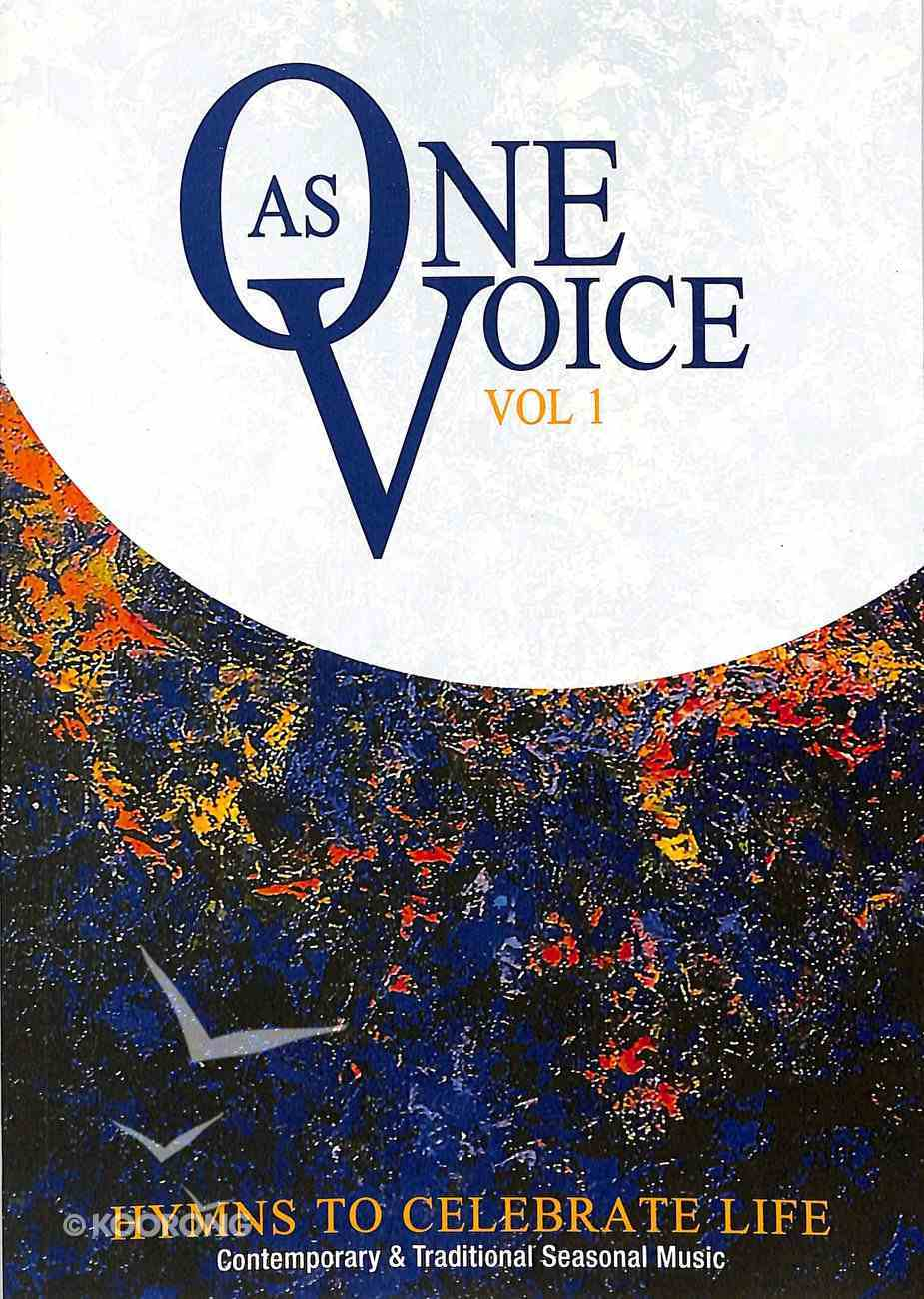 As One Voice People's Edition Volume 1 (Music Book) Paperback