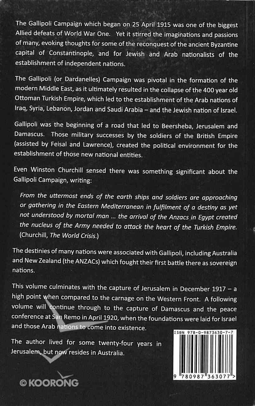 Gallipoli - the Road to Jerusalem Paperback