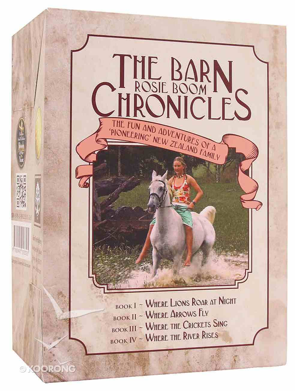 Barn Chronicles (4 Book Set) (The Barn Chronicles 2 Series) Hardback