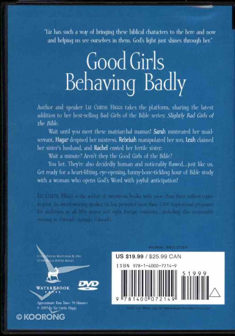 Slightly Bad Girls of the Bible DVD