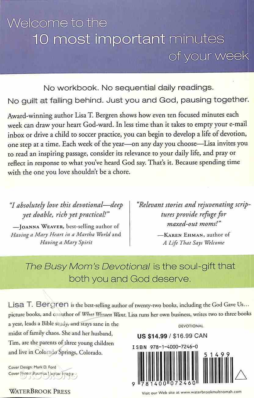 The Busy Mom's Devotional Paperback