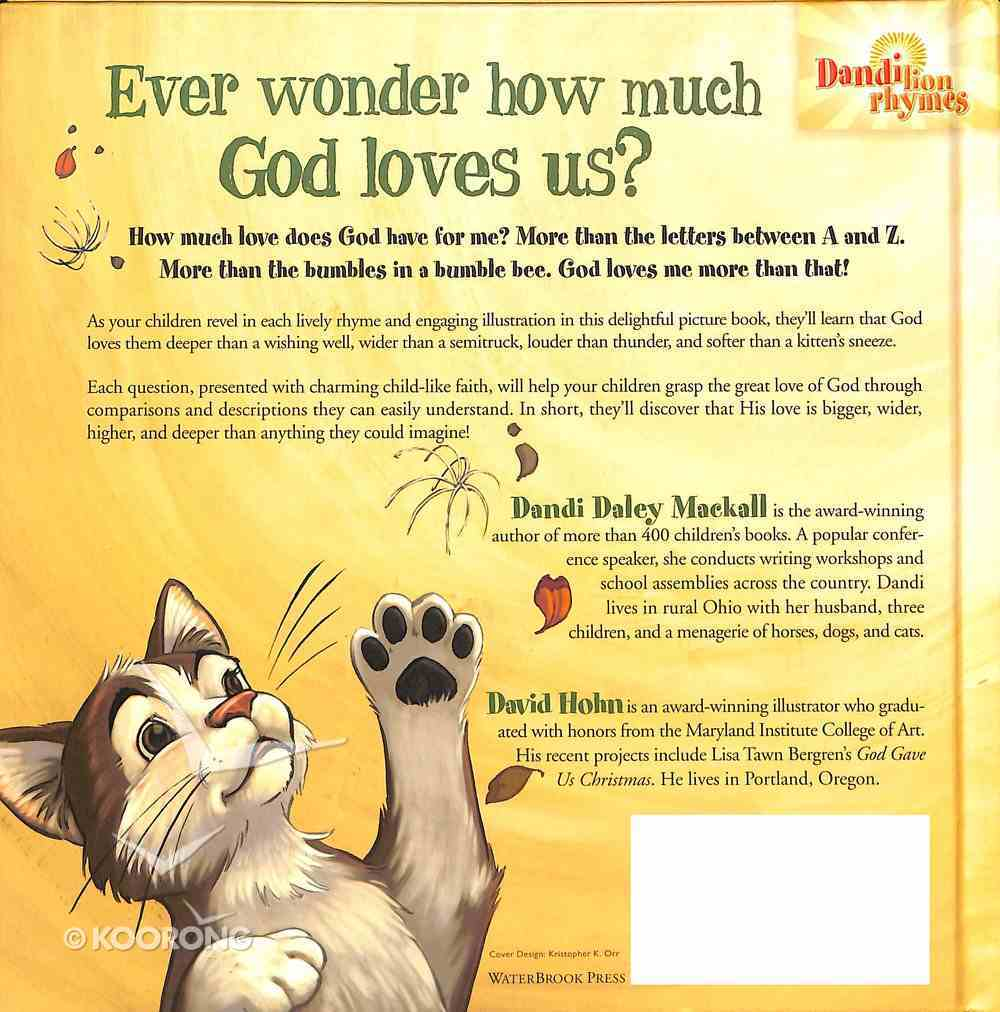 God Loves Me More Than That! Hardback