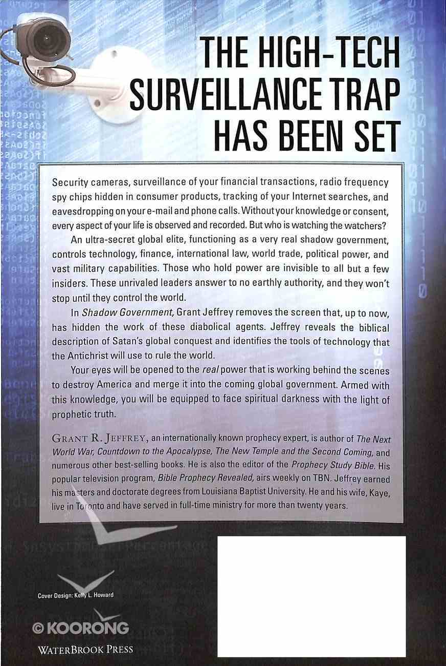 Shadow Government Paperback