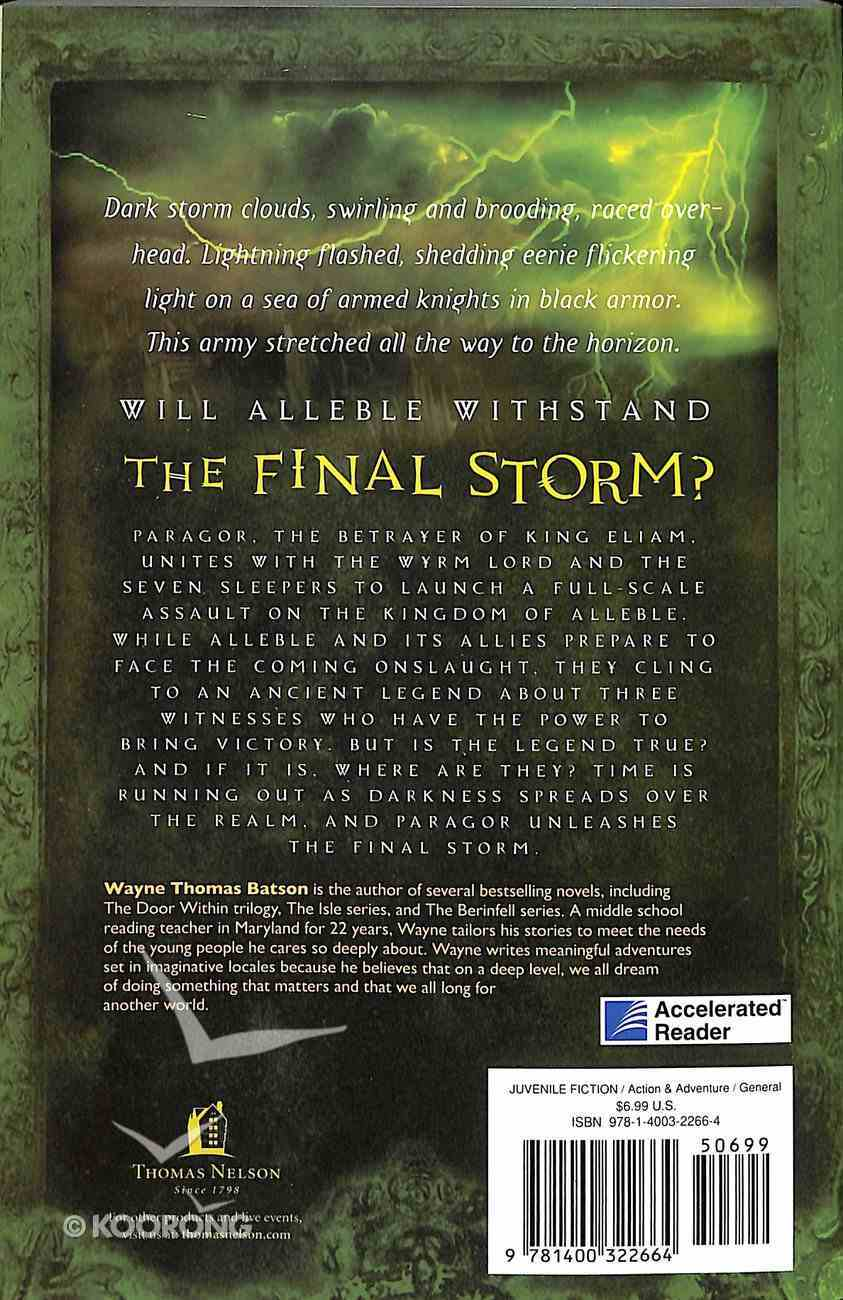 The Final Storm (#03 in Door Within Trilogy Series) Paperback