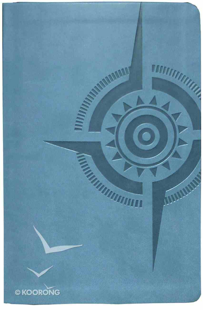 Voice Compass Study Bible Peacock Blue Premium Imitation Leather