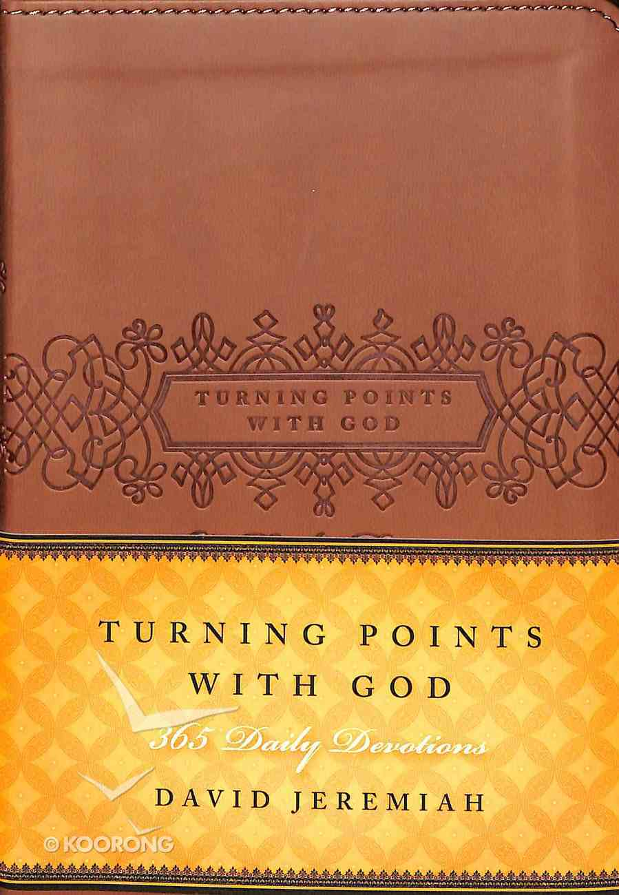 Turning Points With God: 365 Daily Devotions (365 Daily Devotions Series) Imitation Leather