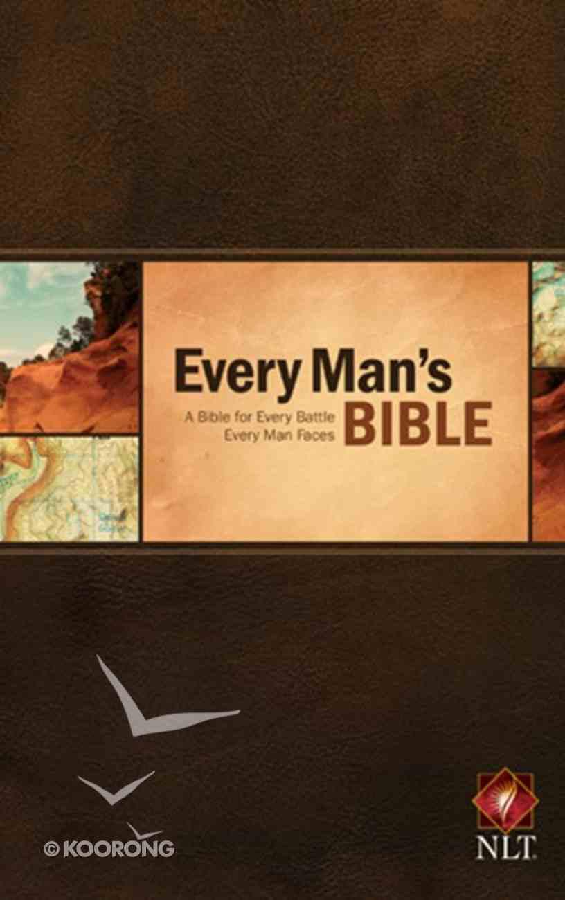 NLT Every Man's Bible (Black Letter Edition) Hardback