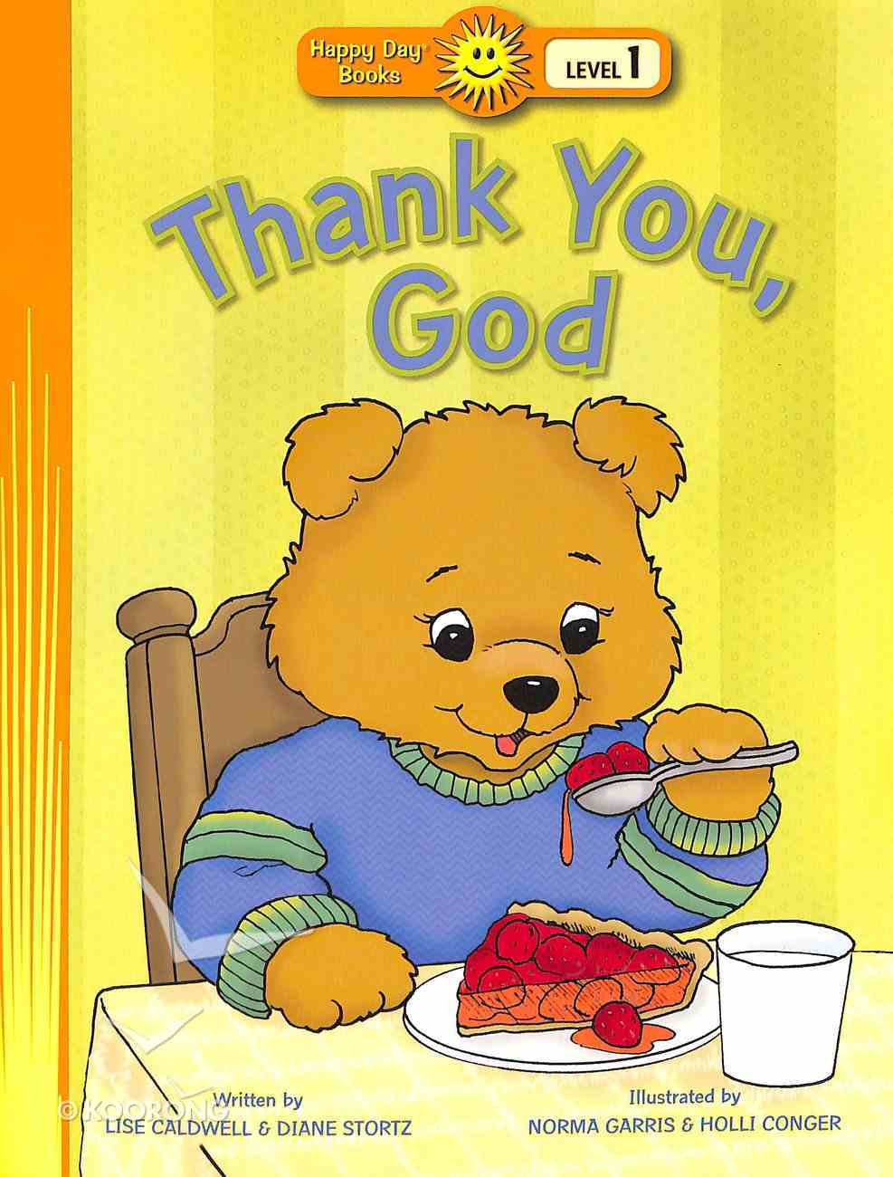 Thank You, God (Happy Day Level 1 Pre-readers Series) Paperback