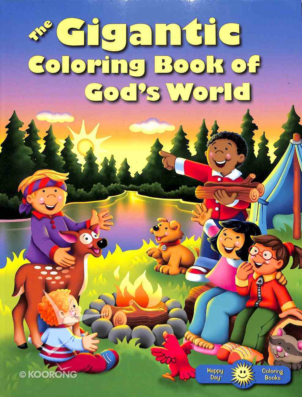 The Gigantic Coloring Book of God's World Paperback
