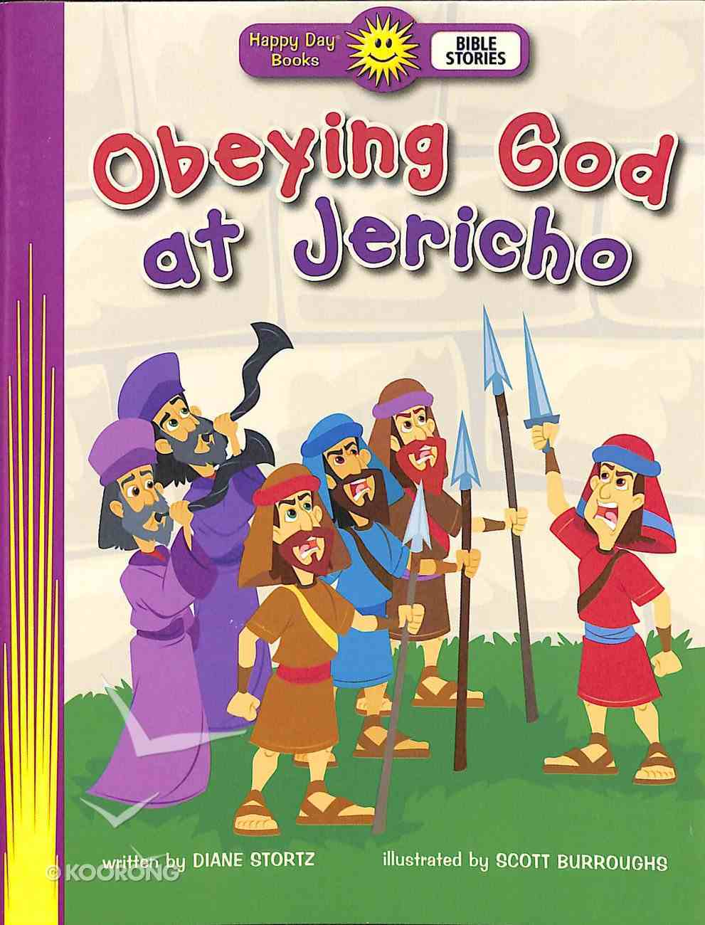 Obeying God At Jericho (Happy Day: Bible Stories Series) Paperback