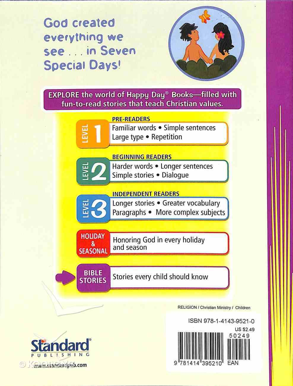 Seven Special Days (Happy Day: Bible Stories Series) Paperback