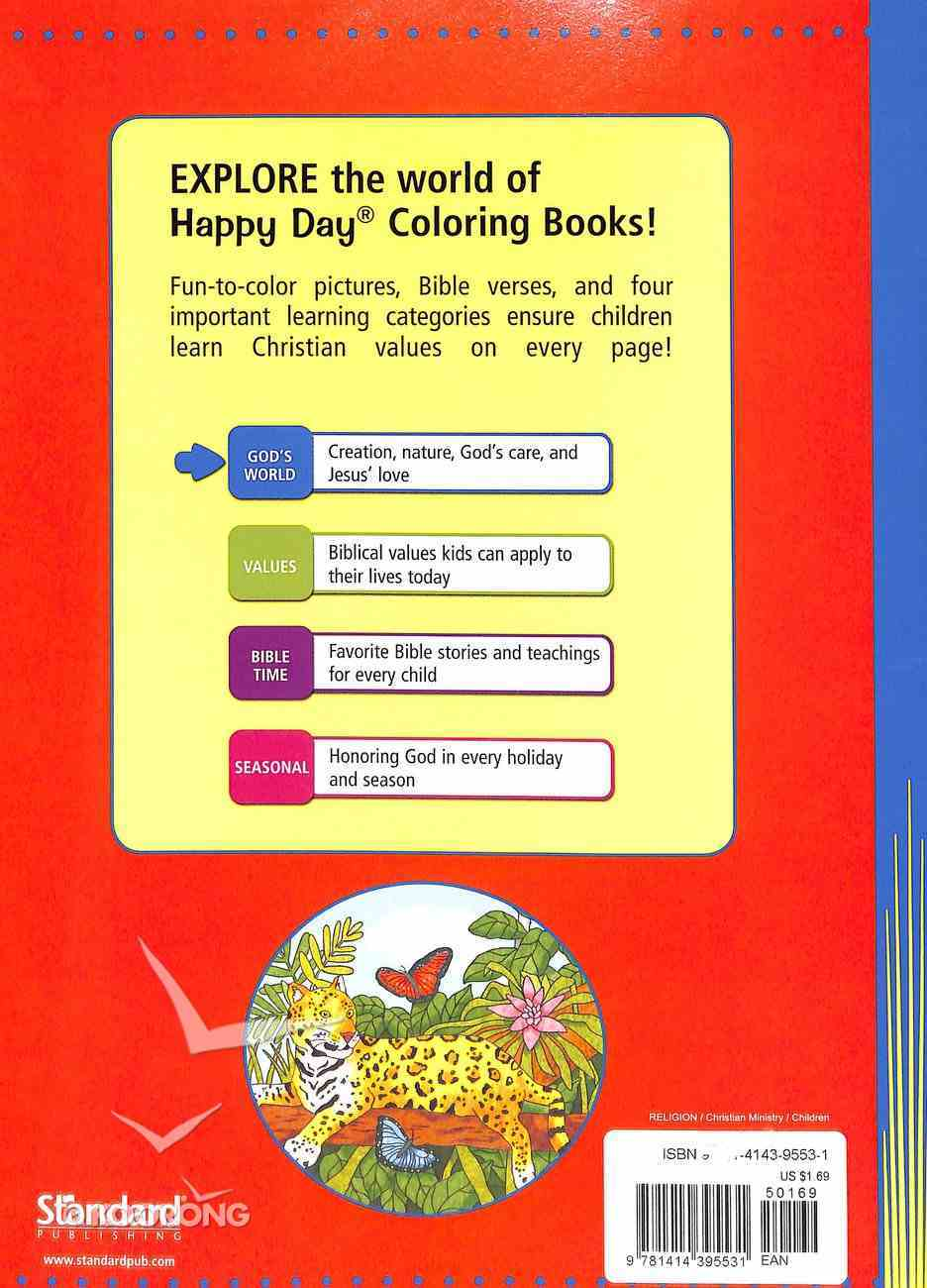 God's Amazing World (Happy Day Colouring & Activity Series) Paperback