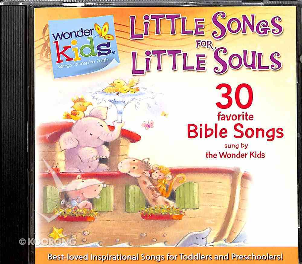 Little Songs For Little Souls (#01 in Wonder Kids Music Series) CD