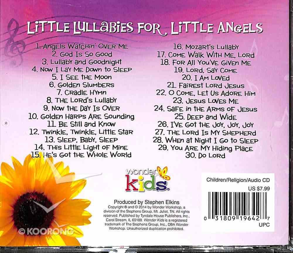 Little Lullabies For Little Angels (#04 in Wonder Kids Music Series) CD