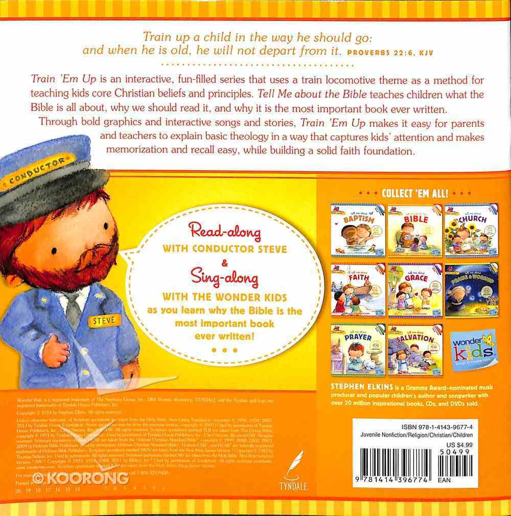 Tell Me About the Bible (Includes CD & Stickers) (Wonder Kids: Train 'Em Up Series) Paperback