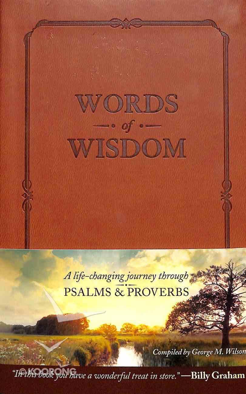 Words of Wisdom Imitation Leather