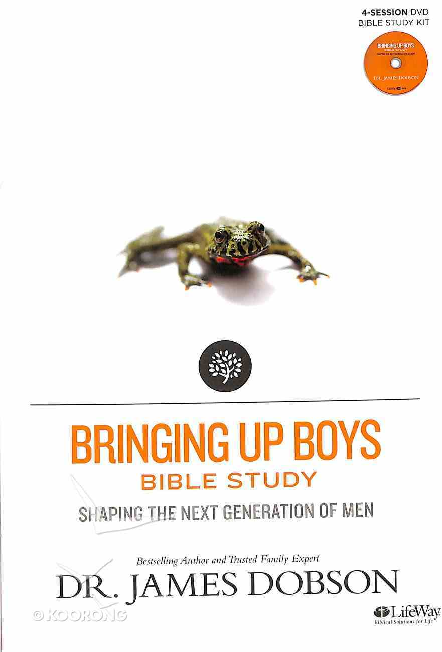 Bringing Up Boys Bible Study (Leader Kit) (Building A Family Legacy Series) Pack